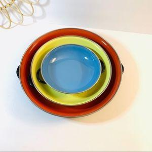 Vintage | Yugoslavia Enamelware Cookware Pans